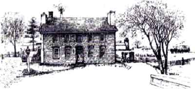 Osceola Mill House Drawing