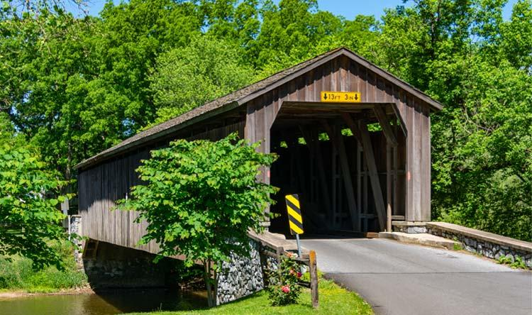 Dutch Country Covered Bridge